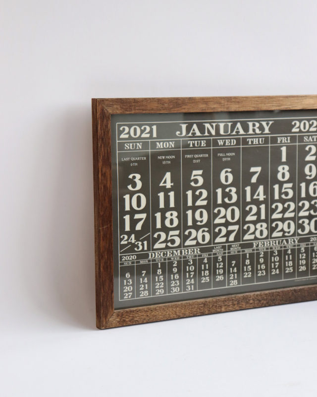 Labor Day 2021 Calendar Calendar Frame Signal Garments 1