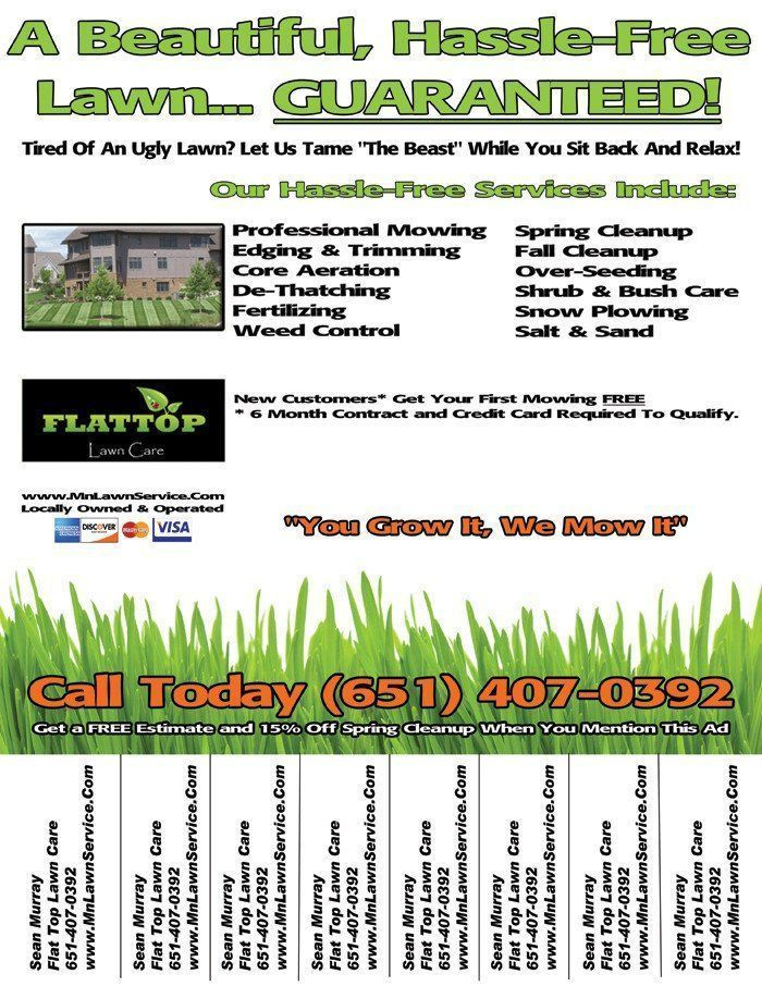 Lawn Care Flyer Template New Lawn Care Flyercare Flyer