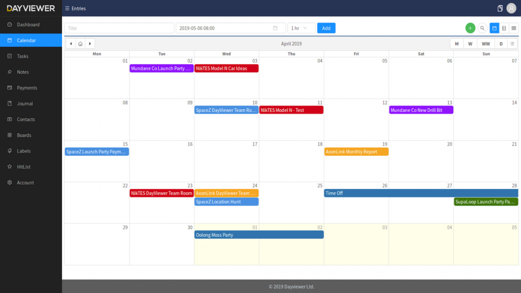 looking for a hard copy calendar with daily day count