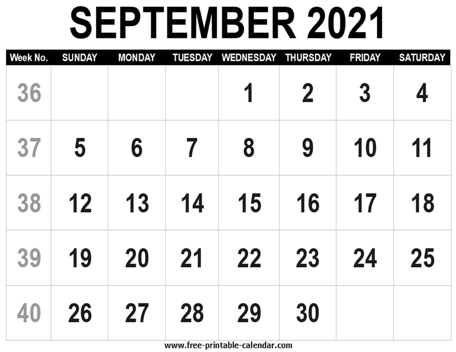 Monthly Fill In Calendar 2021 Calendar Printables Free Blank