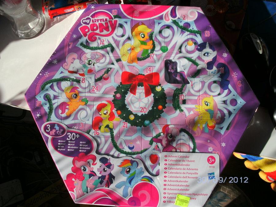 My Little Pony Advent Calendar Calendar Template 2021