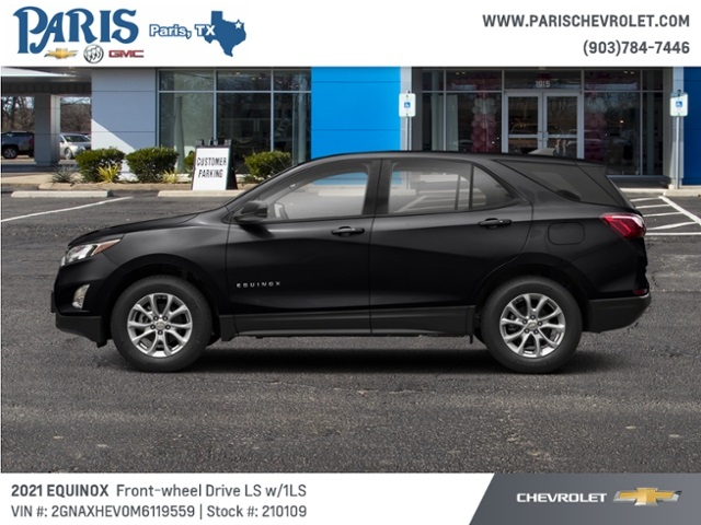 New 2021 Chevrolet Equinox Ls Stock210109 Nightfall Gray