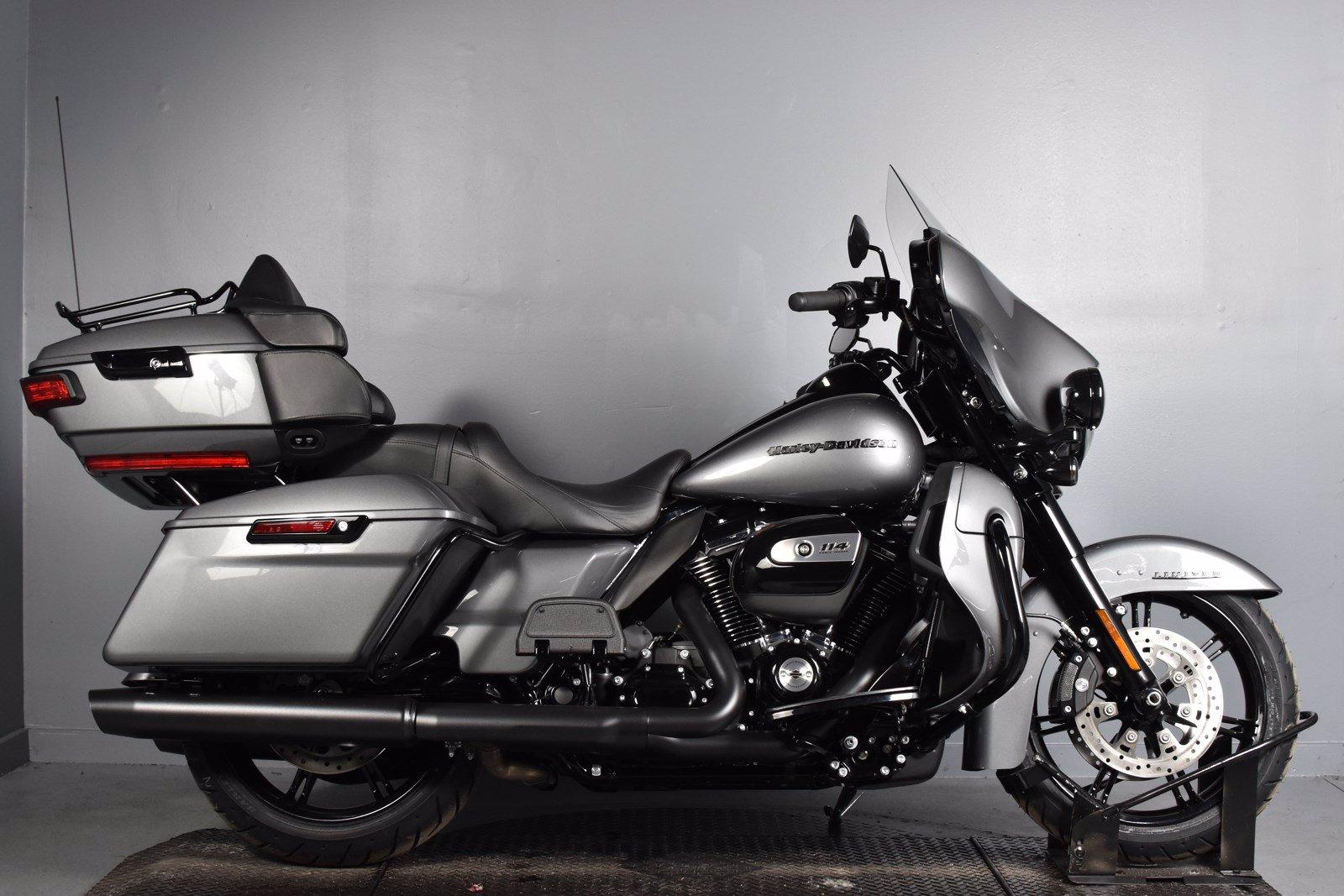 New 2021 Harley Davidson Ultra Limited Black Flhtk Touring