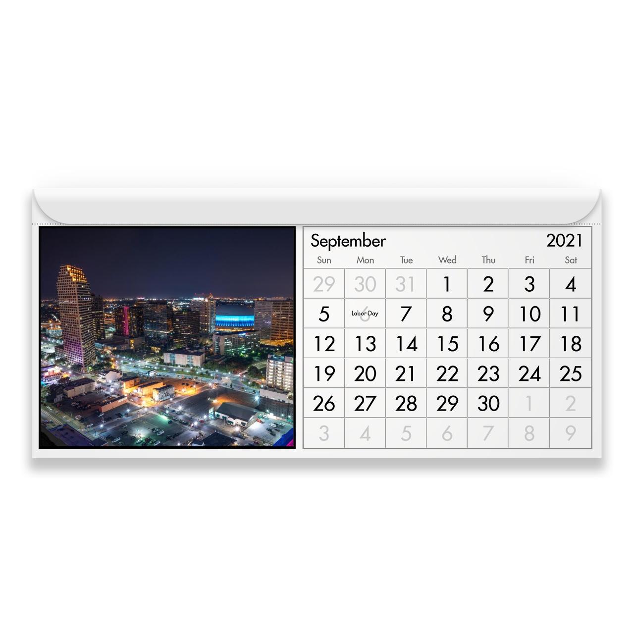 New Orleans 2021 Calendario Magnetico