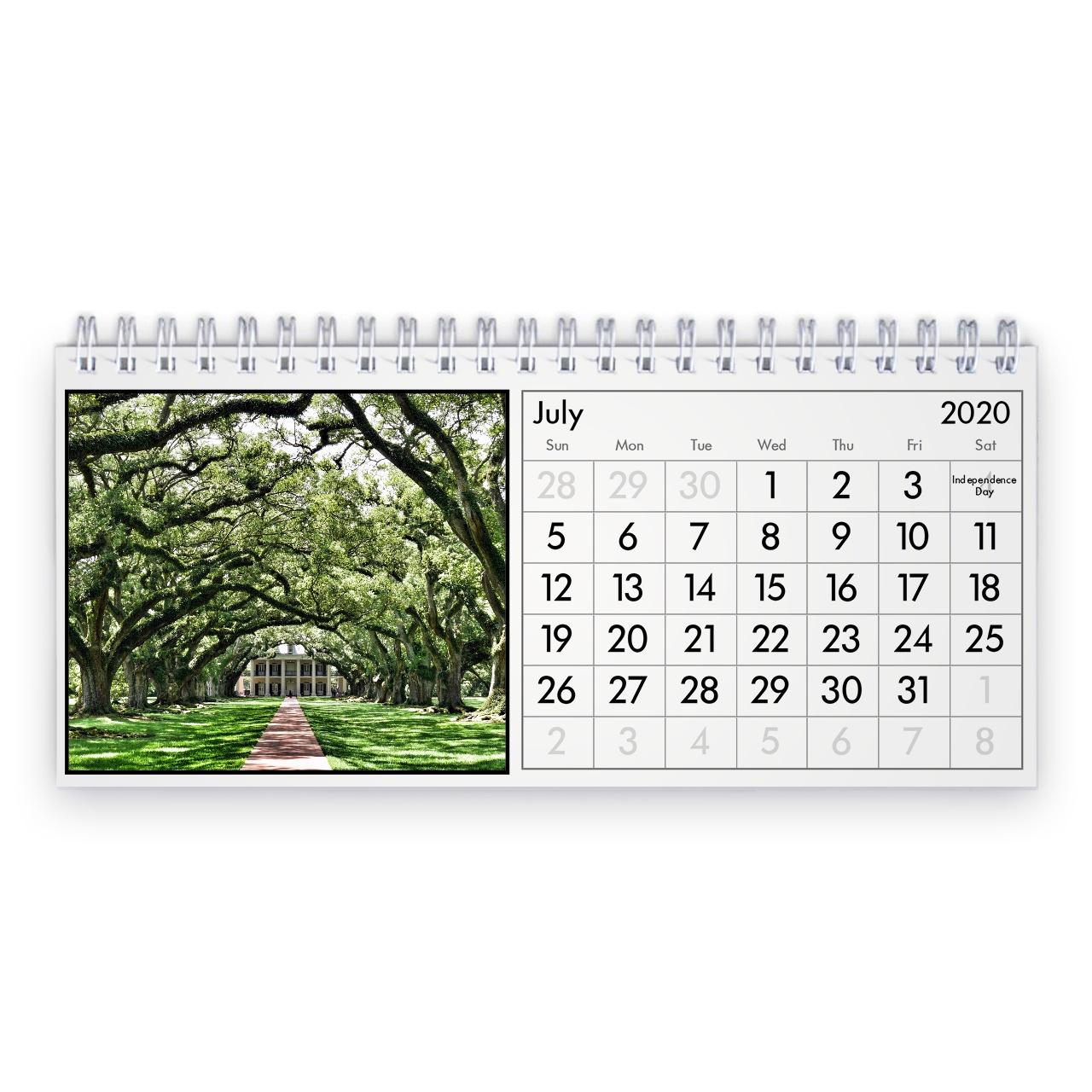 New Orleans 2021 Desk Calendar