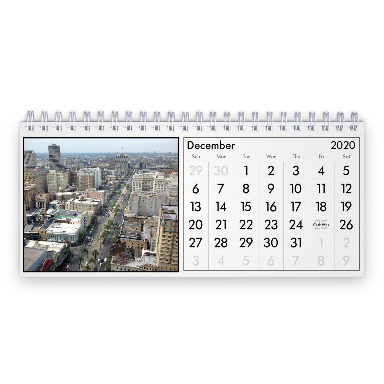 New Orleans Calendario Da Tavolo 2021 1