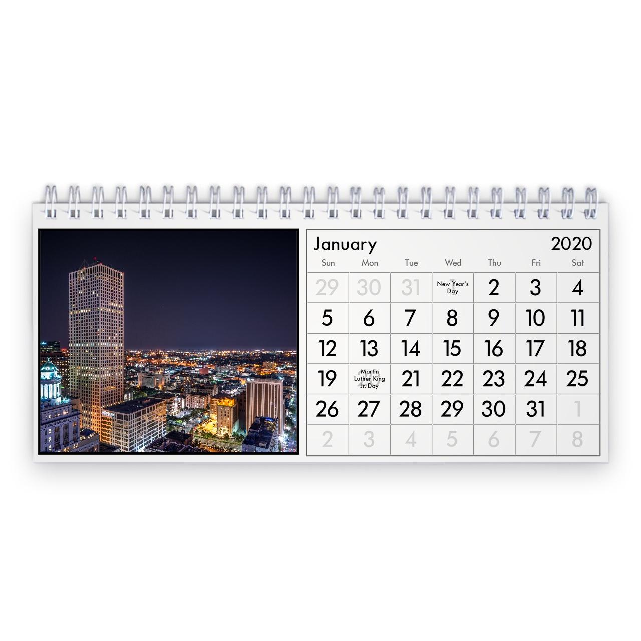 New Orleans Calendario Da Tavolo 2021