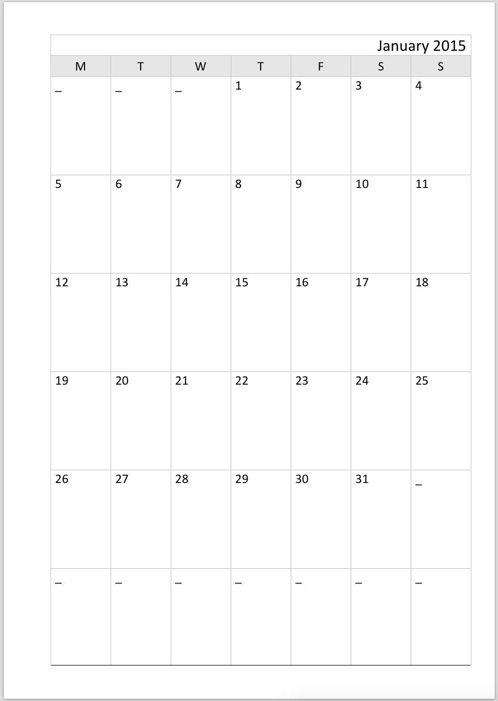 Print 2 Calendar Months Per Page In 2020 Blank Calendar