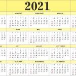 Print 5 Year Calendar