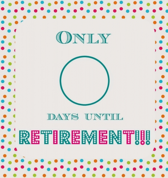 Printable Retirement Countdown Printable Calendar