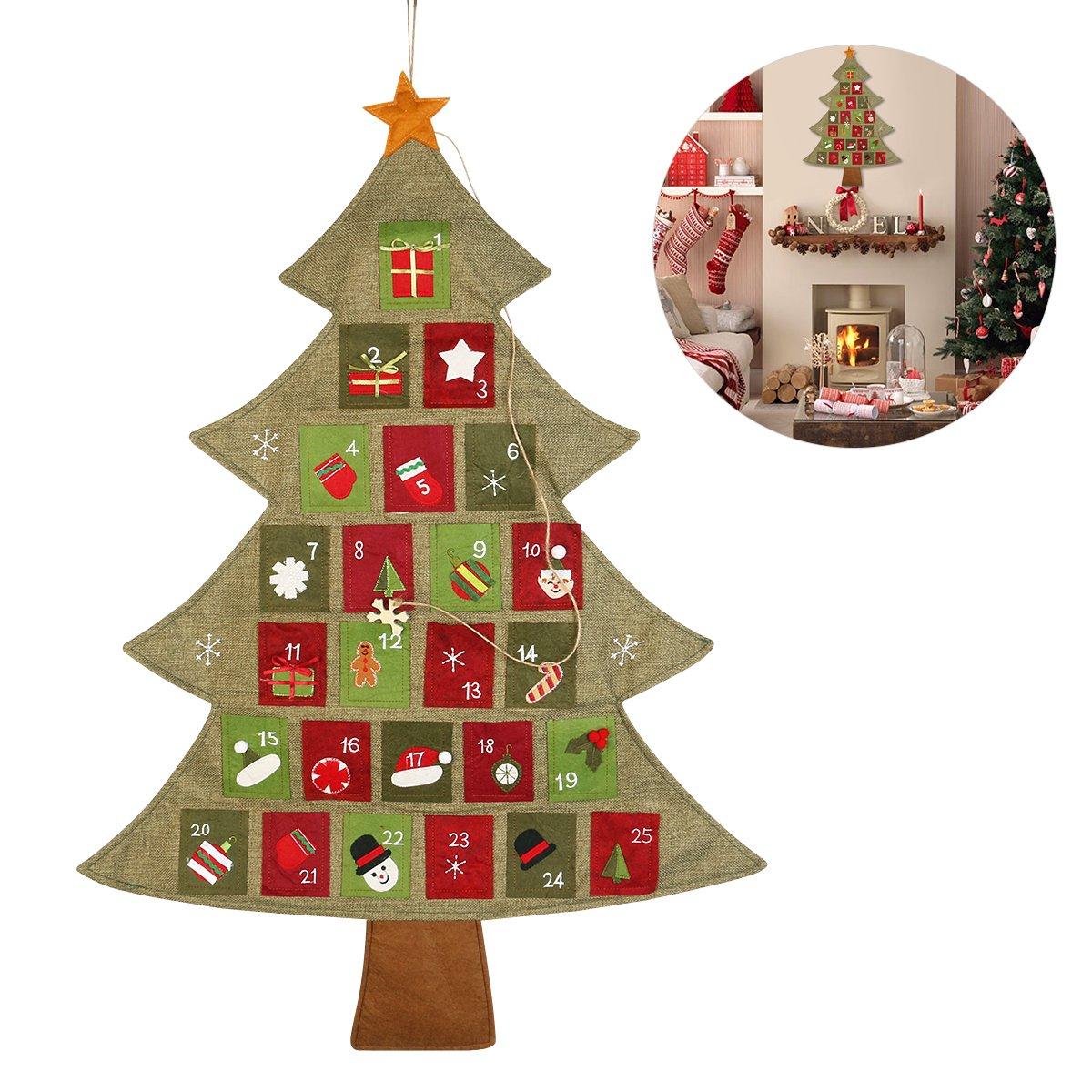 Reactionnx Christmas Tree Advent Calendar Diy Christmas