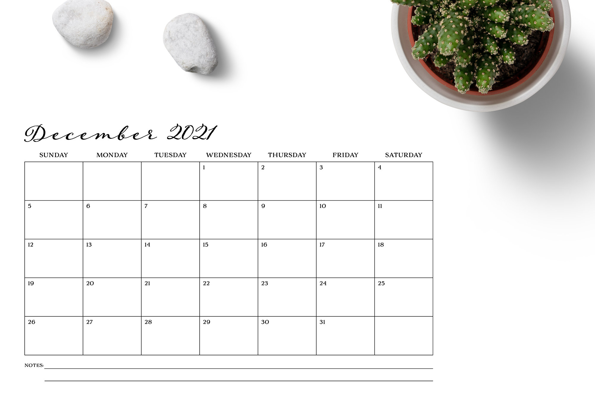 Sale 11 X 17 Inch 2021 Calendar Template Instant Download 1