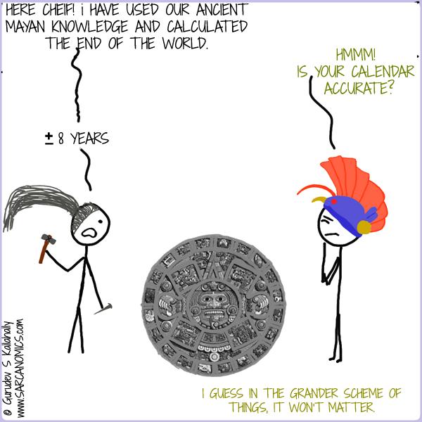 Sarcanomics A Mayan Prediction