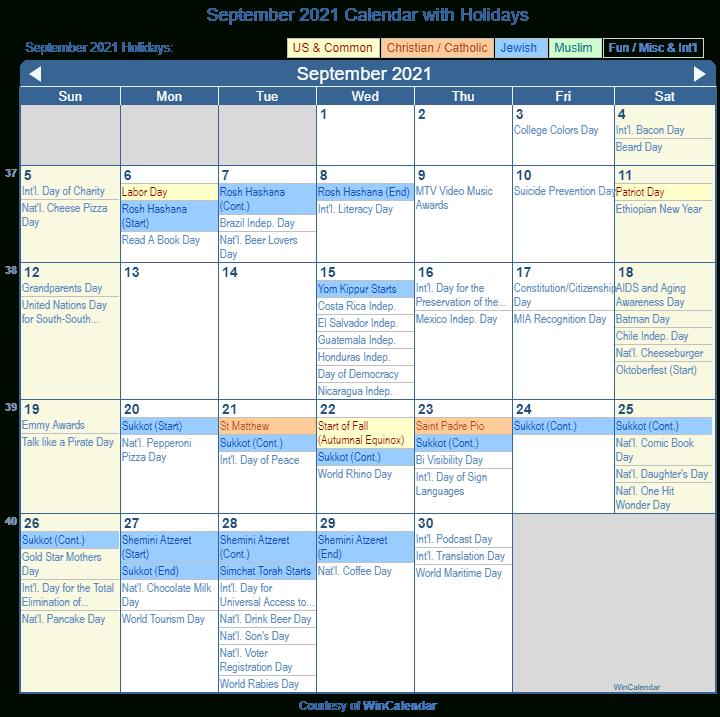 September 2021 Jewish Calendar Printable March 2