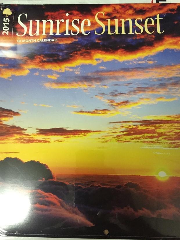 sunrise sunset calendar calendars redditgifts