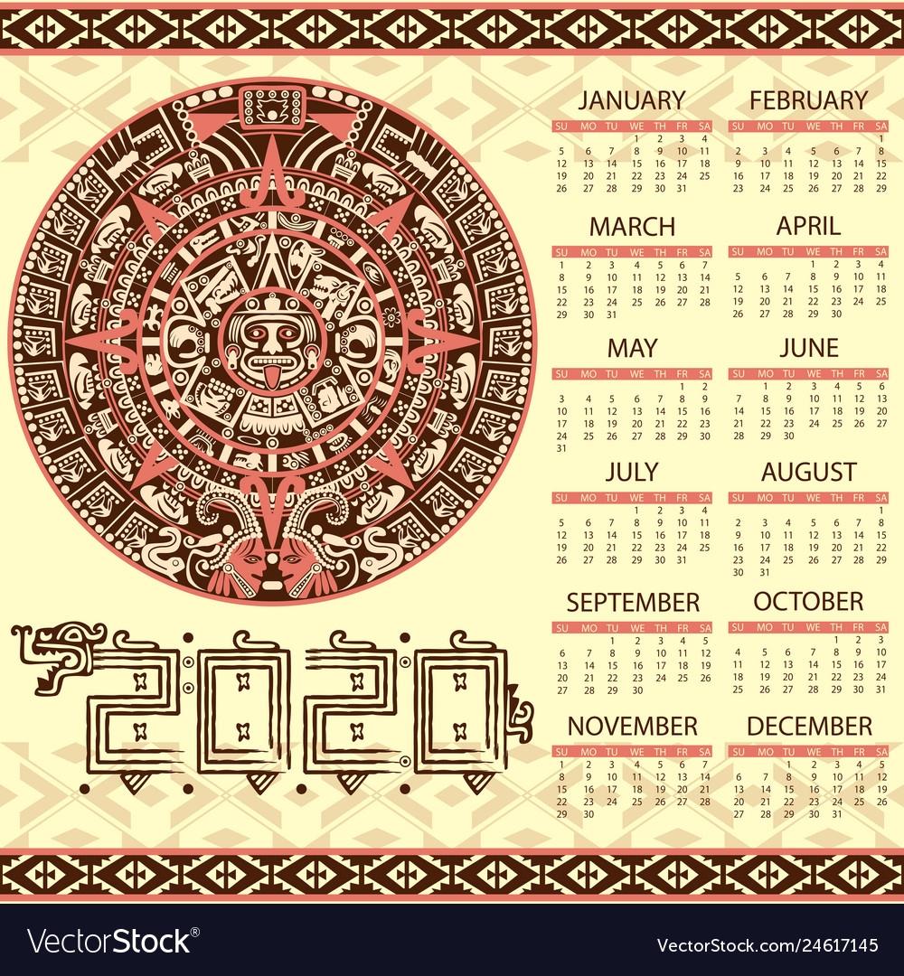 The Mayan Calendar 2020 Get Free Calendar