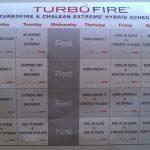 Turbo Fire Chalean Extreme Hybrid Schedule Chalean