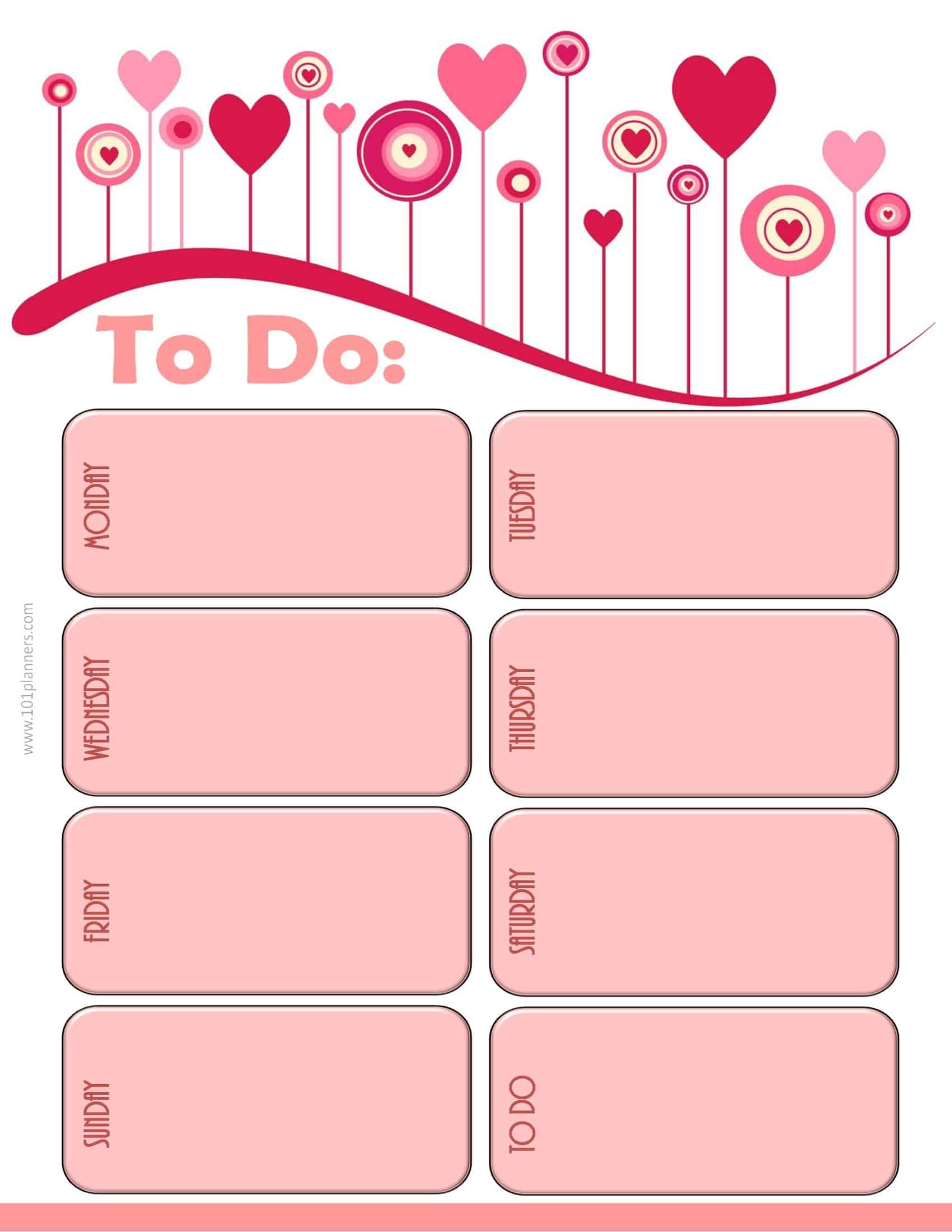 Weekly Calendar Maker Create Free Custom Calendars