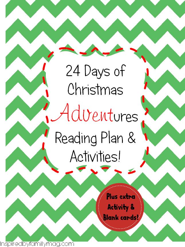 12 Days Of Christmas Advent Calendar Free Printable