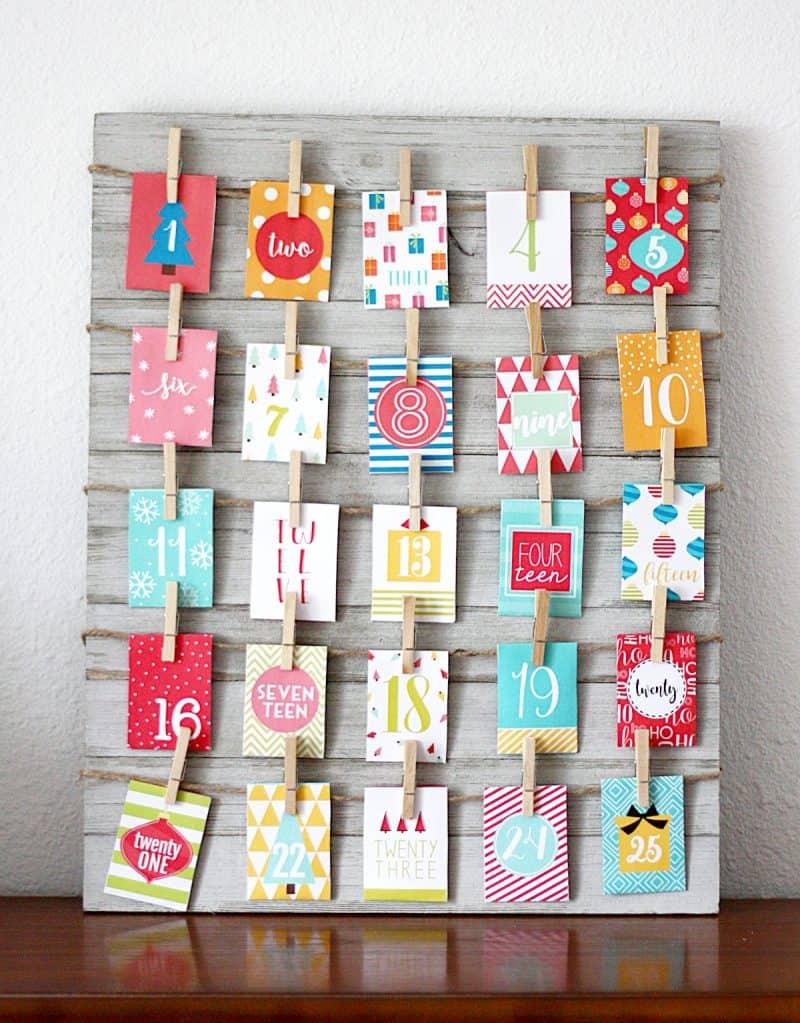 20 Creative Homemade Advent Calendar Ideas Gluesticks Blog