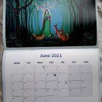 2021 Calendar Art Calendar Mystical Pagan Goddess