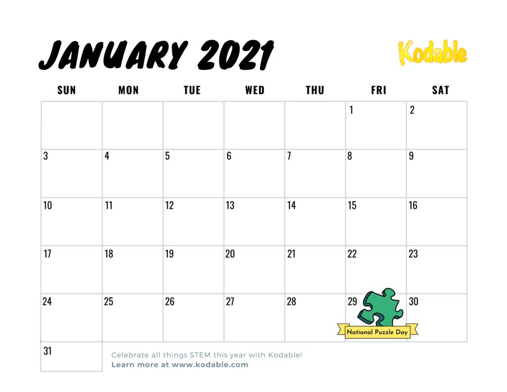 2021 Stem Holiday Calendar Special Stem Edition