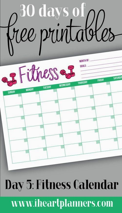 30 Days Of Free Prin 30 Days Of Free Printable Monthly
