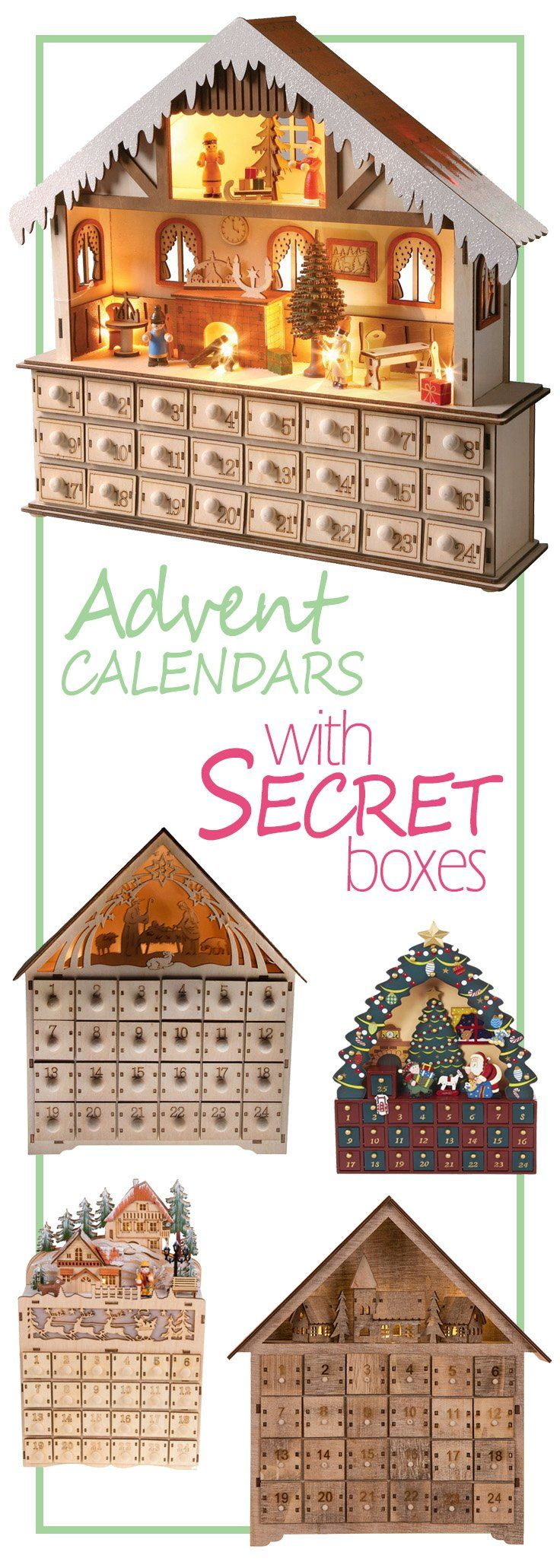 Advent Calendars With Secret Boxes Advent Calendar Gifts