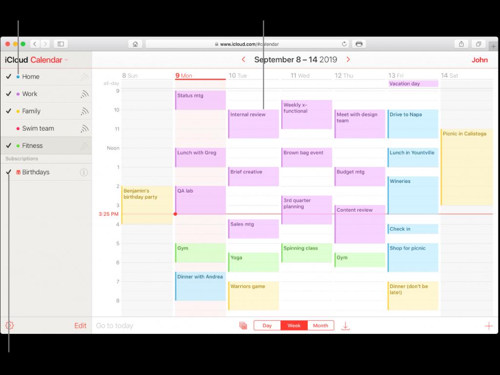 Apple Calendar On Windows Calendar Template 2020