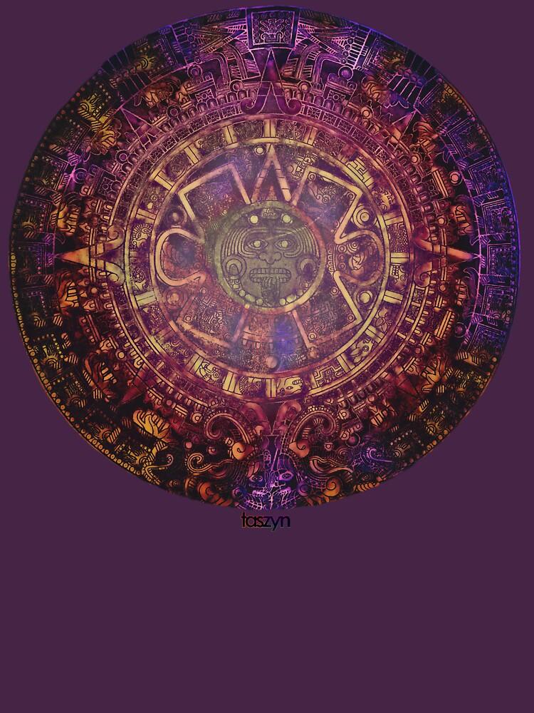 Aztec Mayan Calendar Unisex T Shirttaszyn Redbubble