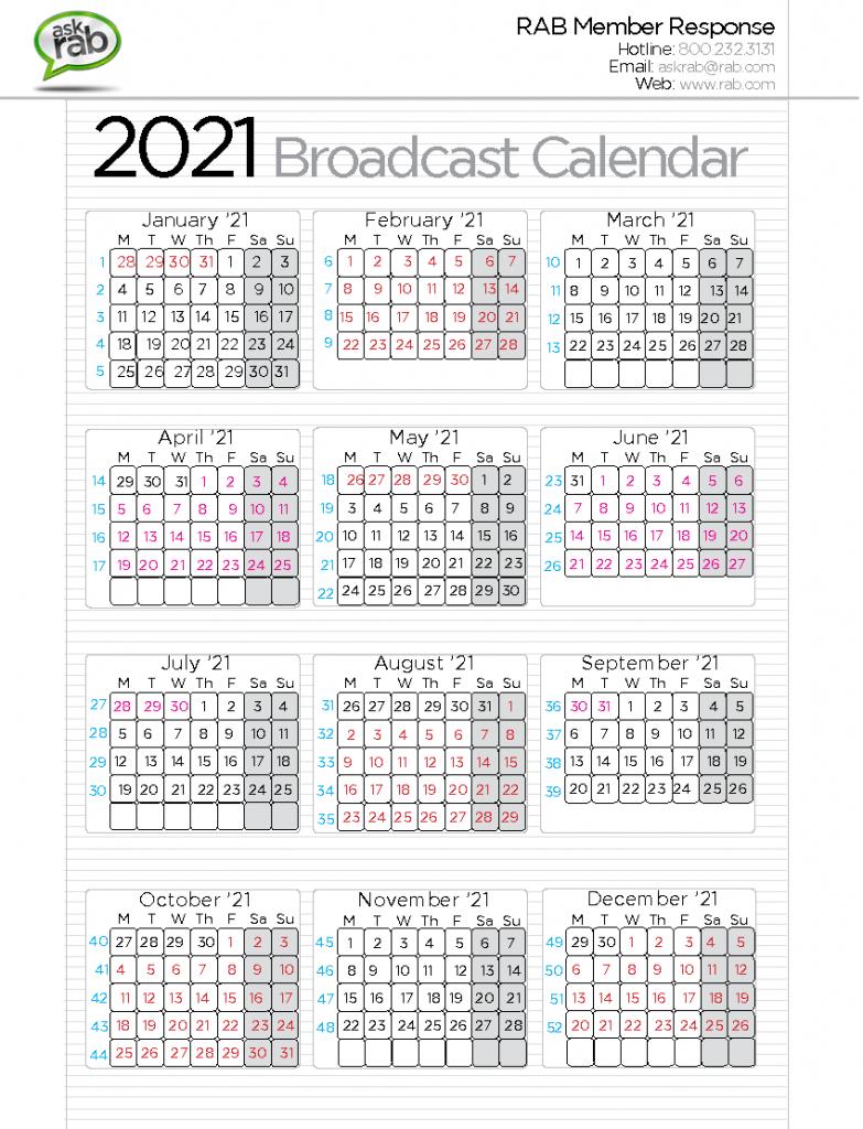 Cbs Calendar Template Calendar Template 2021