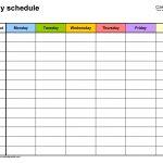Create Your 5 Year Schedule Excel Get Your Calendar