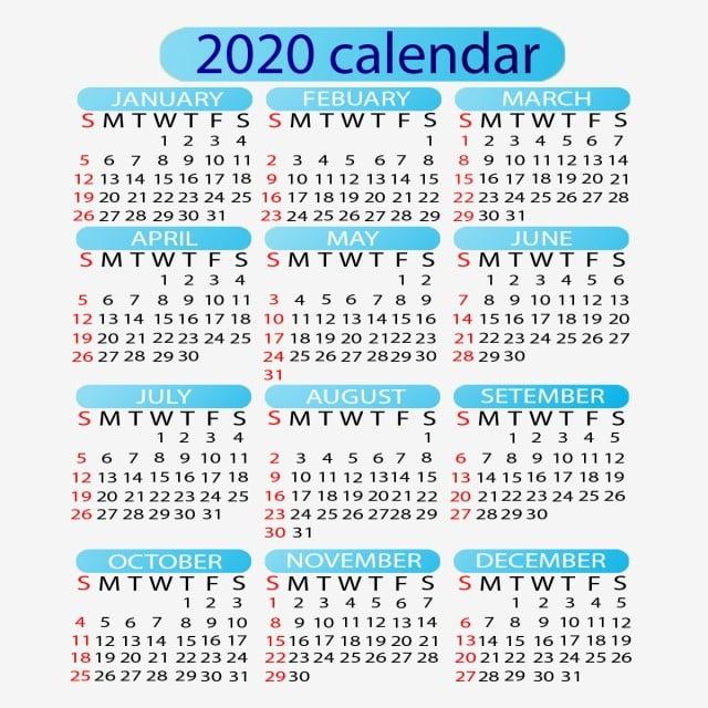 Editable 2020 Calendar 2020 Calendar Calendar 2020 Year