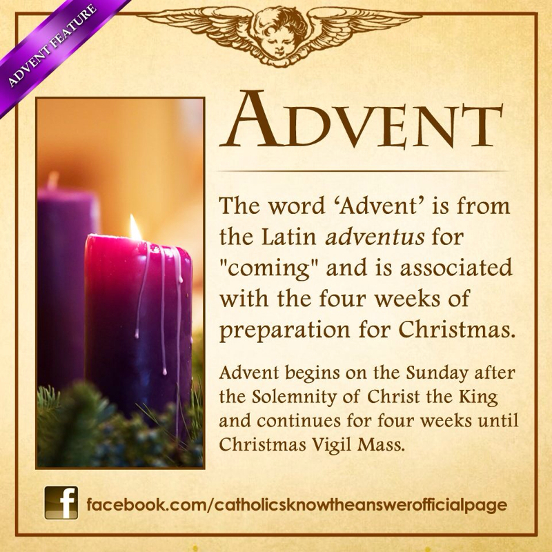 First Day Of Advent St Joan Of Arc Catholic Church