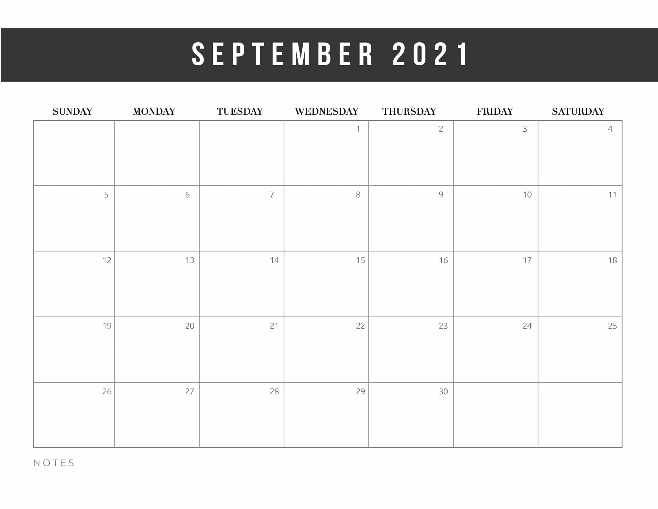 Free Printable 2021 Calendar Template World Of Printables