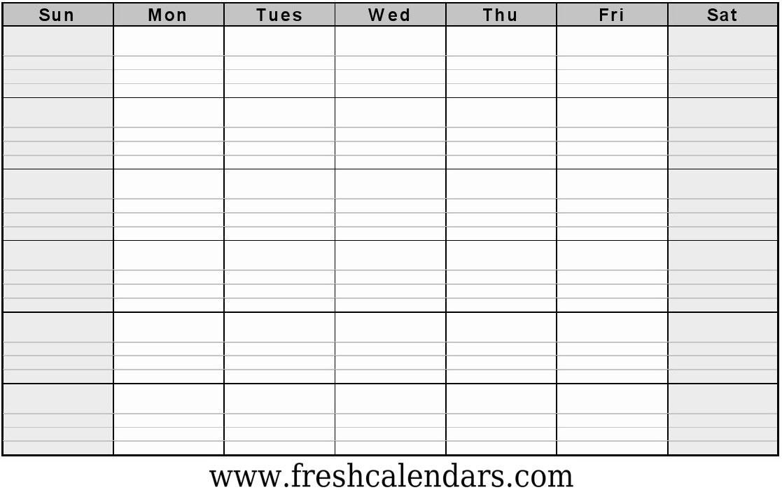 Free Printable Blank Calendar 2020 1