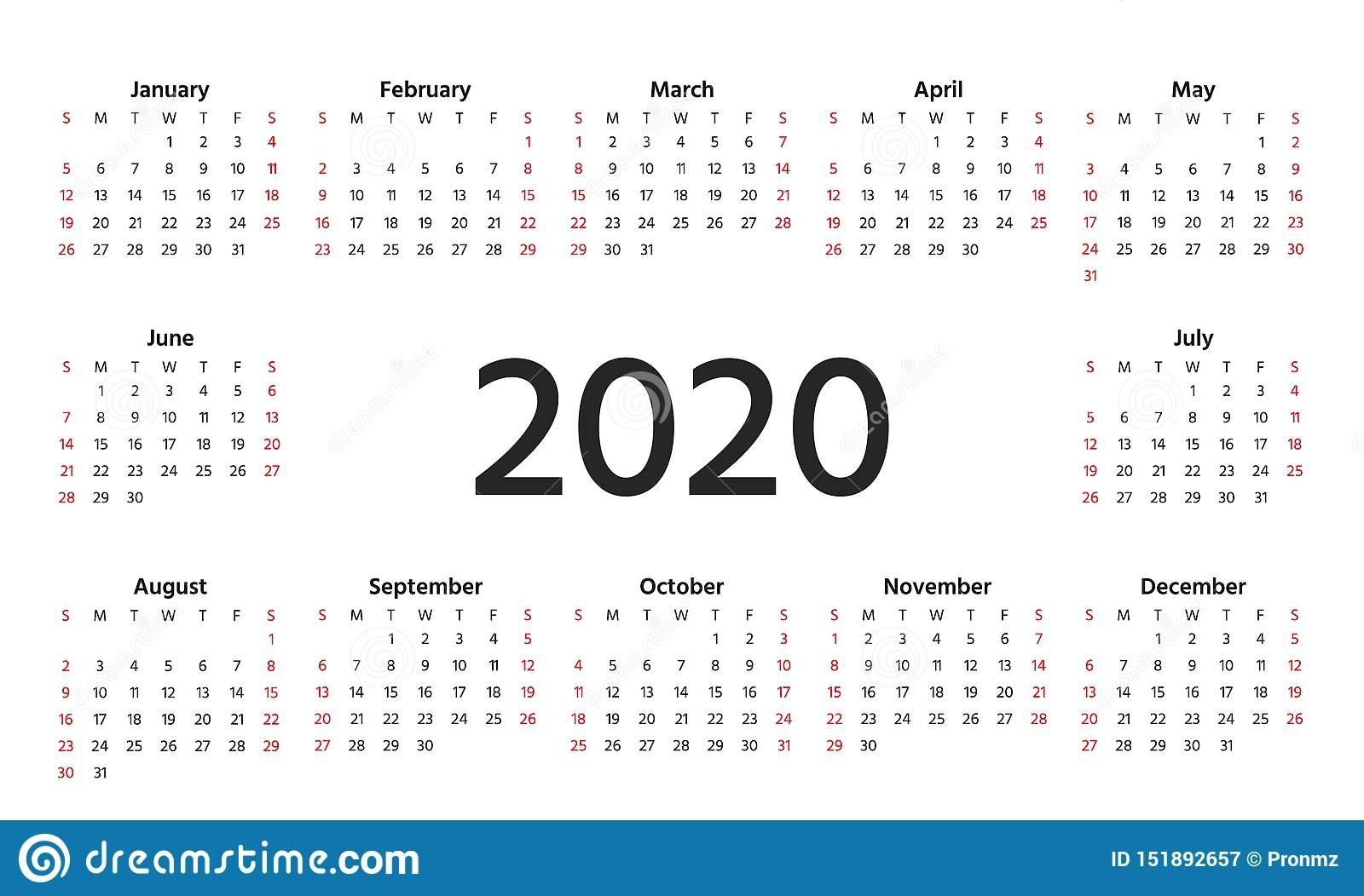 Free Printable Calendars Landscape View Ten Free