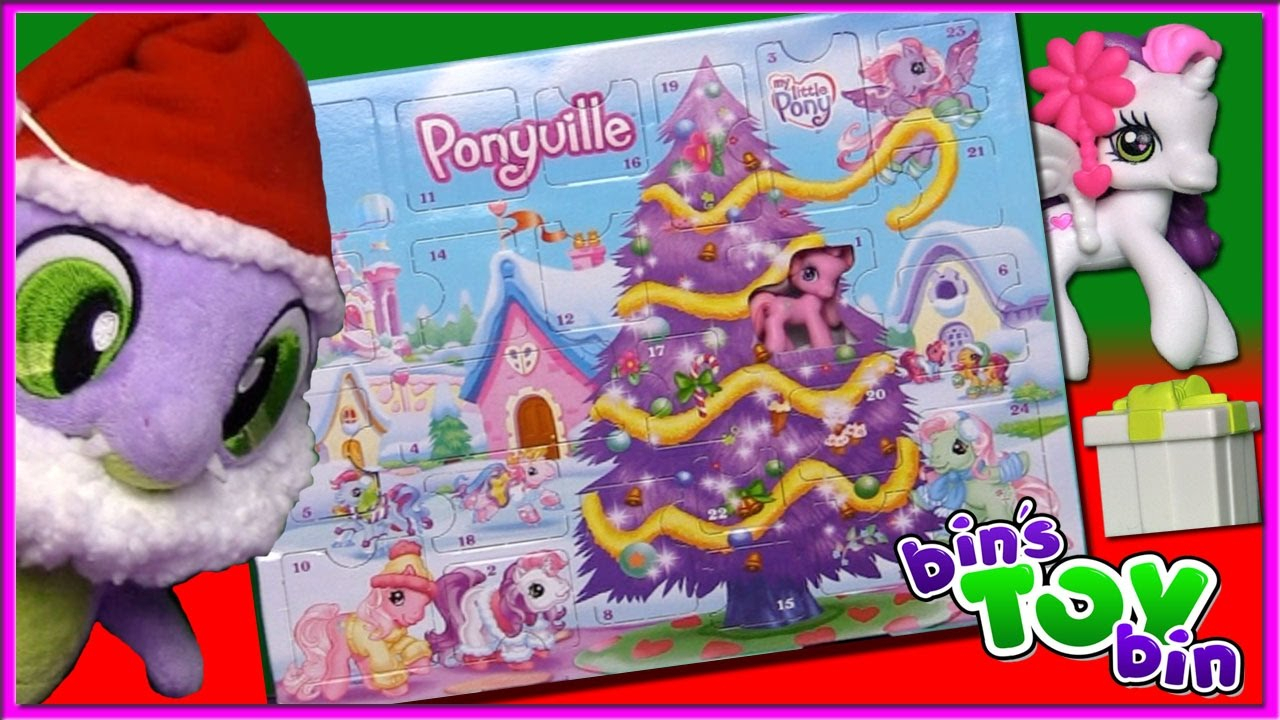 Lets Open The Entire My Little Pony Advent Calendar From
