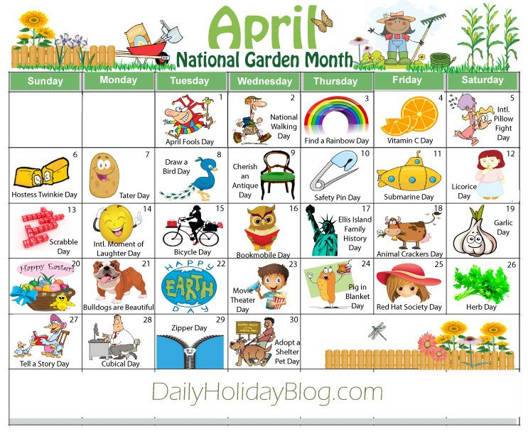 Monthly Holidays Calendars To Upload Weird Holidays 1