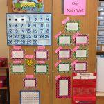 My Math Wall Until I Get My Everyday Counts Calendar Math