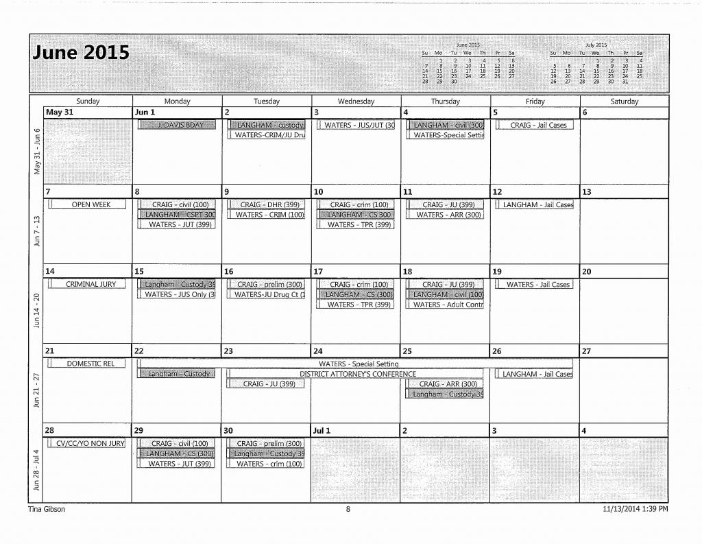 Nc District Courts Calendar Calendar Template 2021