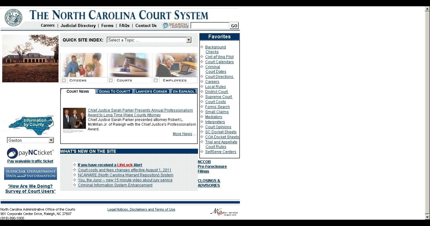 North Carolina Court Calendar Qualads