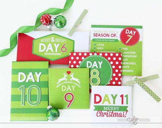 Printable Countdown Calendar For Christmas The Dating