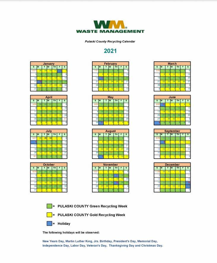 Pulaski County Recycling Program Pulaski County 1