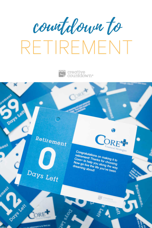 Retirement Countdown Calendar In 2020 Countdown Calendar
