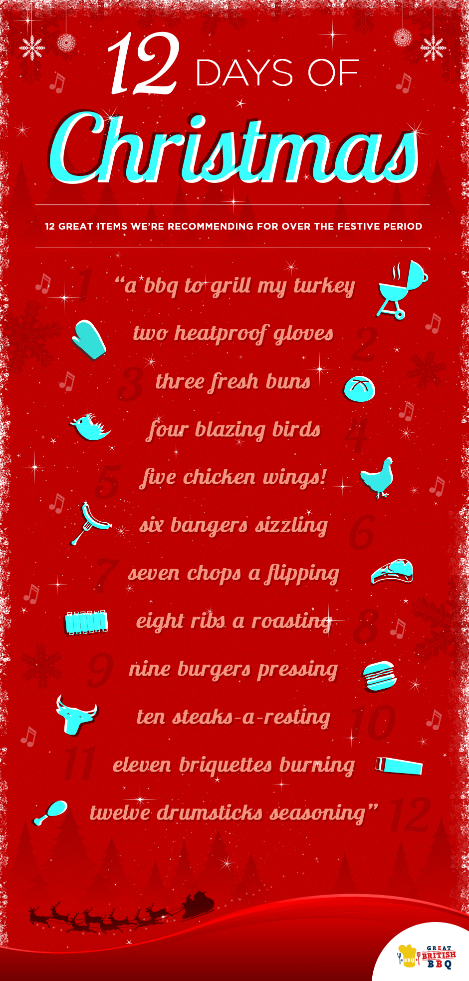 The 12 Days Of Christmas Great British Bbq