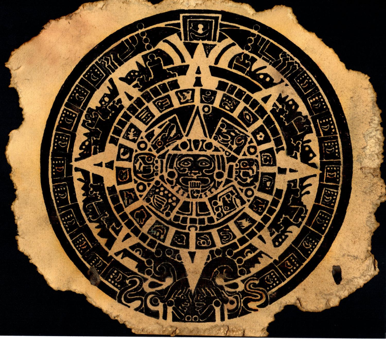 The Aztec Calendar Cobblestone Productions Historic