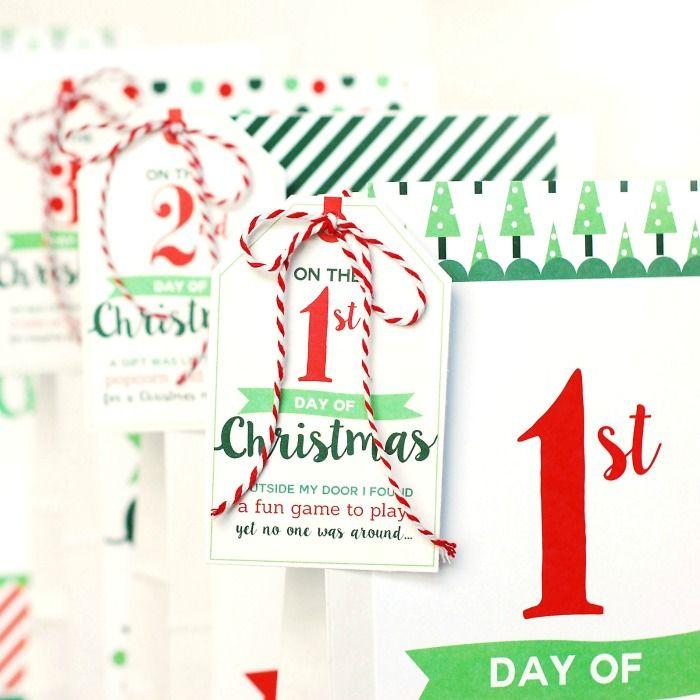 Week Planner Printables And Calendars 12 Days Of